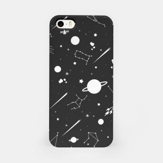 Thumbnail image of Aesthetic space iPhone Case, Live Heroes