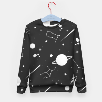 Thumbnail image of Aesthetic space Kid's sweater, Live Heroes