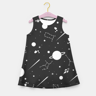 Thumbnail image of Aesthetic space Girl's summer dress, Live Heroes