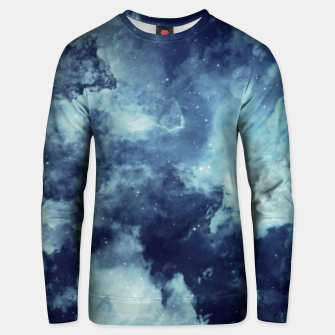 Thumbnail image of Blue aesthetic galaxy Unisex sweater, Live Heroes