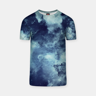 Thumbnail image of Blue aesthetic galaxy T-shirt, Live Heroes