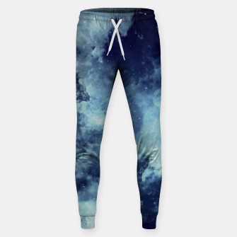 Thumbnail image of Blue aesthetic galaxy Sweatpants, Live Heroes