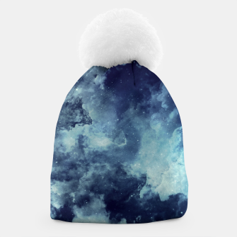 Thumbnail image of Blue aesthetic galaxy Beanie, Live Heroes
