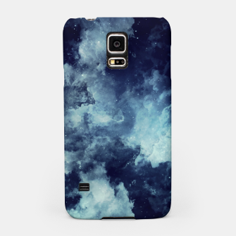 Thumbnail image of Blue aesthetic galaxy Samsung Case, Live Heroes