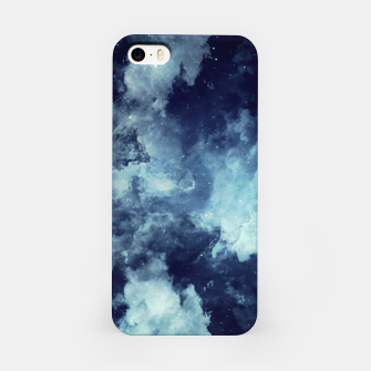 Thumbnail image of Blue aesthetic galaxy iPhone Case, Live Heroes