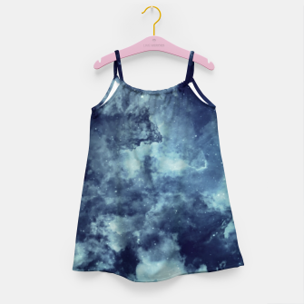 Thumbnail image of Blue aesthetic galaxy Girl's dress, Live Heroes