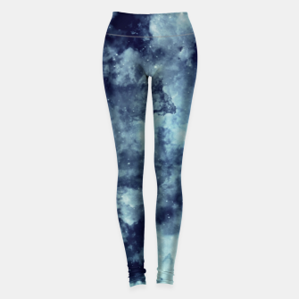 Thumbnail image of Blue aesthetic galaxy Leggings, Live Heroes