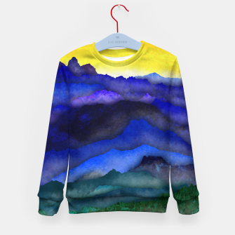 Thumbnail image of One cloud Kid's sweater, Live Heroes