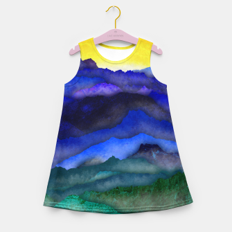Thumbnail image of One cloud Girl's summer dress, Live Heroes