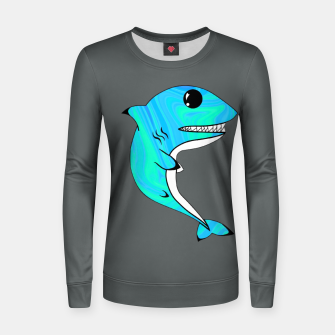 Thumbnail image of Melting Shark Women sweater, Live Heroes