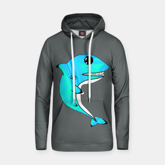 Thumbnail image of Melting Shark Hoodie, Live Heroes