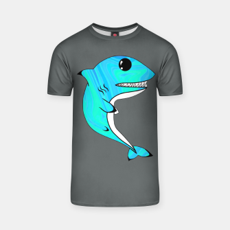 Thumbnail image of Melting Shark T-shirt, Live Heroes