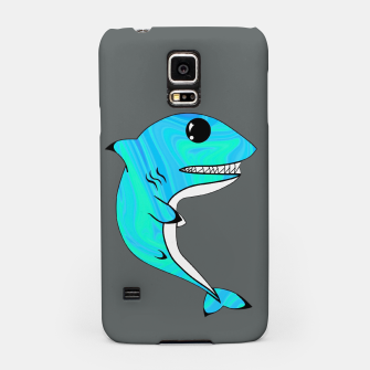 Thumbnail image of Melting Shark Samsung Case, Live Heroes