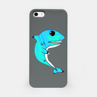 Thumbnail image of Melting Shark iPhone Case, Live Heroes