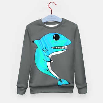 Thumbnail image of Melting Shark Kid's sweater, Live Heroes
