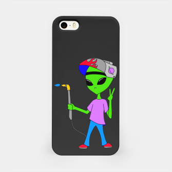 Thumbnail image of Welding Alien iPhone Case, Live Heroes