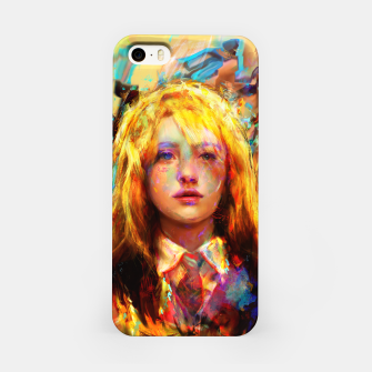 Miniatur luna lovegood iPhone Case, Live Heroes