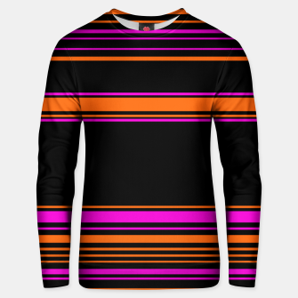 Imagen en miniatura de Halloween with style - elegant stripes in holiday colors Unisex sweater, Live Heroes