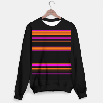 Imagen en miniatura de Halloween with style - elegant stripes in holiday colors Sweater regular, Live Heroes