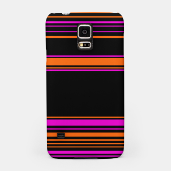 Thumbnail image of Halloween with style - elegant stripes in holiday colors Samsung Case, Live Heroes