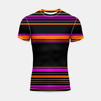 Imagen en miniatura de Halloween with style - elegant stripes in holiday colors Shortsleeve rashguard, Live Heroes