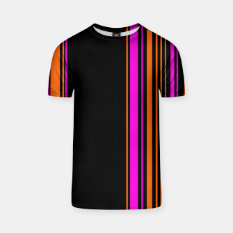 Imagen en miniatura de Halloween with style - elegant stripes in holiday colors T-shirt, Live Heroes