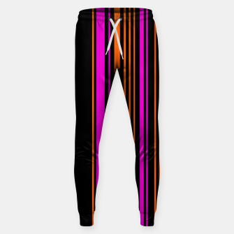 Imagen en miniatura de Halloween with style - elegant stripes in holiday colors Sweatpants, Live Heroes
