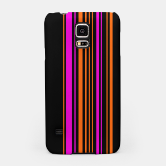 Imagen en miniatura de Halloween with style - elegant stripes in holiday colors Samsung Case, Live Heroes