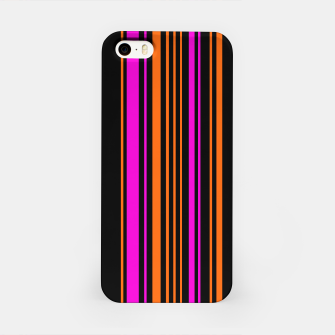 Imagen en miniatura de Halloween with style - elegant stripes in holiday colors iPhone Case, Live Heroes