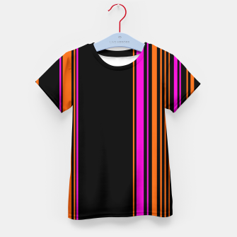 Imagen en miniatura de Halloween with style - elegant stripes in holiday colors Kid's t-shirt, Live Heroes