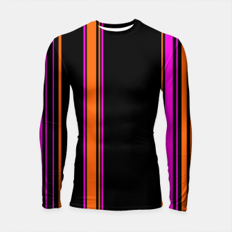 Imagen en miniatura de Halloween with style - elegant stripes in holiday colors Longsleeve rashguard , Live Heroes