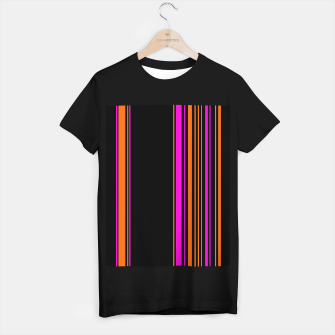 Imagen en miniatura de Halloween with style - elegant stripes in holiday colors T-shirt regular, Live Heroes
