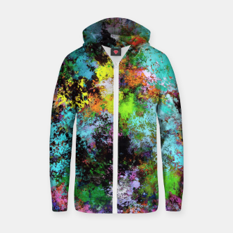 Thumbnail image of Startle Zip up hoodie, Live Heroes