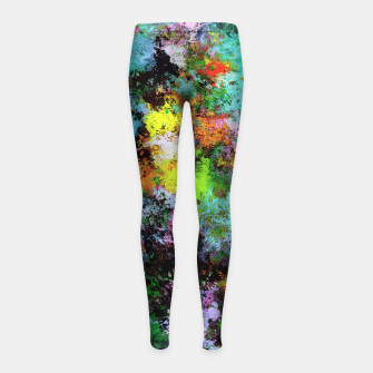 Thumbnail image of Startle Girl's leggings, Live Heroes