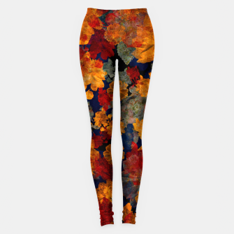Thumbnail image of Colorful flower Leggings, Live Heroes
