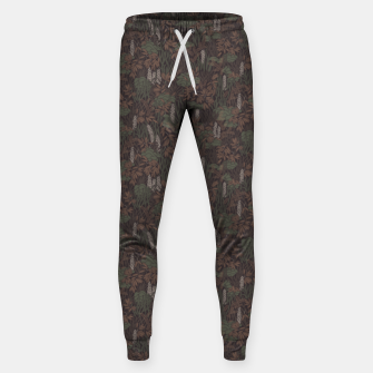 Thumbnail image of Earthy brown tropical lush Sweatpants, Live Heroes