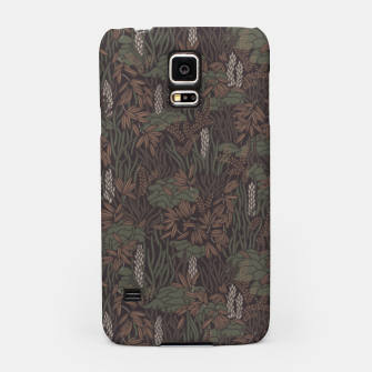 Thumbnail image of Earthy brown tropical lush Samsung Case, Live Heroes