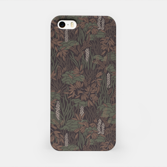 Thumbnail image of Earthy brown tropical lush iPhone Case, Live Heroes