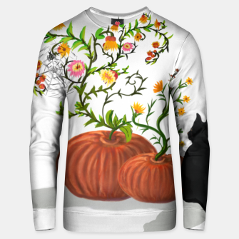 Thumbnail image of Halloween Pumpkin Cat Sudadera unisex, Live Heroes