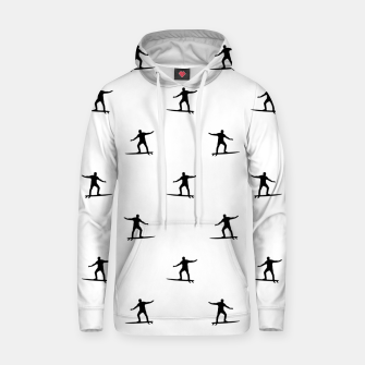 Thumbnail image of Surfing Motif Graphic Print Pattern Hoodie, Live Heroes