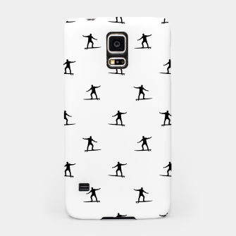Thumbnail image of Surfing Motif Graphic Print Pattern Samsung Case, Live Heroes