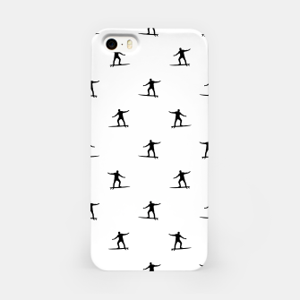 Thumbnail image of Surfing Motif Graphic Print Pattern iPhone Case, Live Heroes