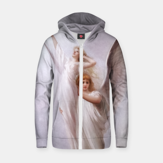 The Human Soul by Luis Ricardo Falero Old Masters Classical Art Reproduction Zip up hoodie thumbnail image