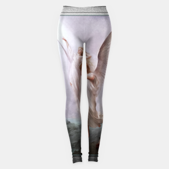 Miniaturka The Human Soul by Luis Ricardo Falero Old Masters Classical Art Reproduction Leggings, Live Heroes