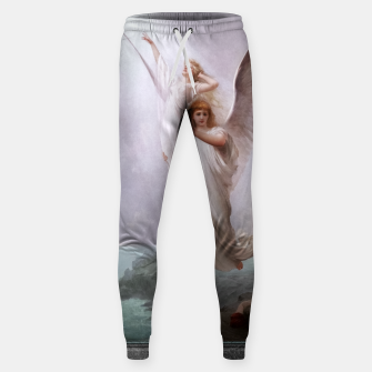 The Human Soul by Luis Ricardo Falero Old Masters Classical Art Reproduction Sweatpants thumbnail image