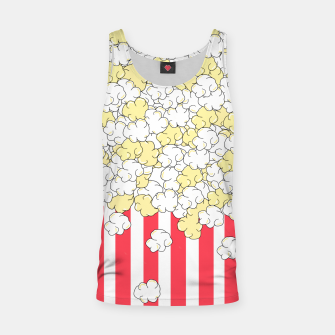 Thumbnail image of Buttered Popcorn Tank Top, Live Heroes