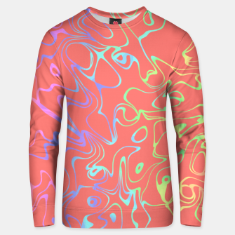 Miniatur Coral Abstract Unisex sweater, Live Heroes
