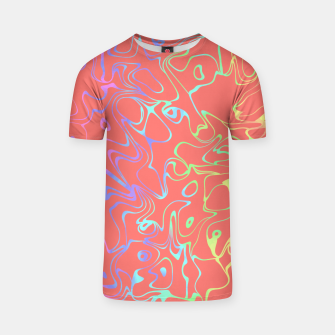 Miniatur Coral Abstract T-shirt, Live Heroes