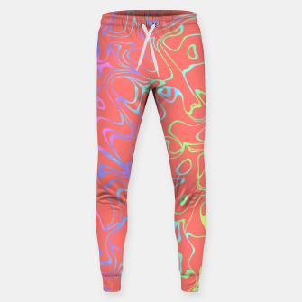 Miniatur Coral Abstract Sweatpants, Live Heroes