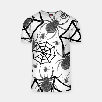 Thumbnail image of Black And White Halloween T-shirt, Live Heroes